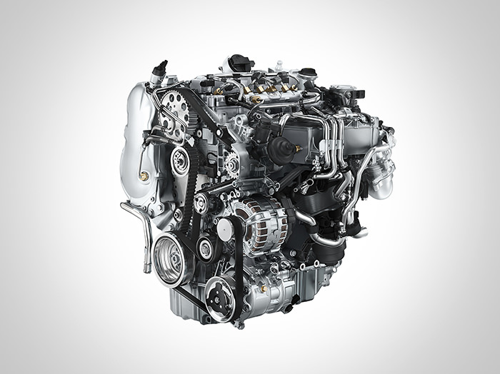 מנועי טורבו-דיזל TDI עם 25.5 קג''מ של מומנט או בנזין-טורבו TSI עם 125 כוחות סוס